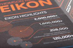 Thomson Reuters Eikon - Infographic Handouts on Behance
