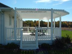 Pictures Purgalas on a deck | this approximately 30 x 16 pergola is incorporated in to a deck it is ...