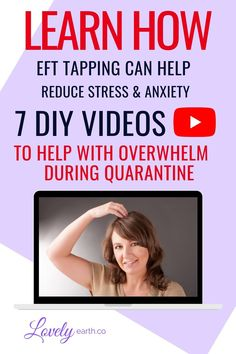 7 Videos using EFT Tapping to cope with quarantine. Learn how to cope with anxiety, by using EFT for stress. EFT is being used to help with overwhelm, anxiety and fear. Maybe consider using EFT to help boost your immune system