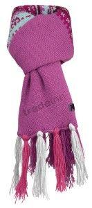 Salewa Jaquard Knit Scarf Azalea Kids $17.84