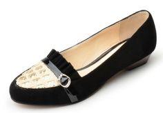 Honeystore Women's Rhistone with Buckle Suede Flats Black 8.5 B(M) US Honeystore,http://www.amazon.com/dp/B00E4KAE6W/ref=cm_sw_r_pi_dp_aB-zsb0AG8DJFC3E