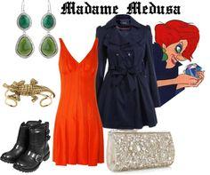 """""""Madame Medusa"""" by merahzinnia ❤ liked on Polyvore"""