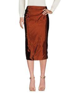 DRIES VAN NOTEN 3/4 length skirt. #driesvannoten #cloth #dress #top #skirt #pant #coat #jacket #jecket #beachwear #
