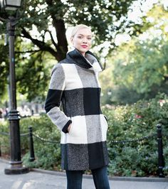 Every Coat You Need in Your Closet: The Plaid Topper (we love the fun collar!) #ivankatrump