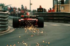 Michael Schumacher Ferrari Monaco 1996    jedi master in action