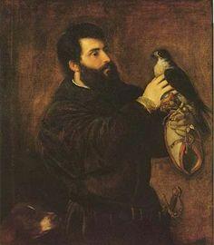 Edging late date wise, nice tunic, even nicer falcon.  TitianGiorgioCornaroFalcon1537.jpg