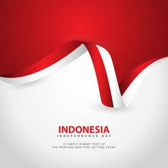Indonesia Independence Day Vector Template Design Illustration Vector and PNG Independence Day Greeting Cards, Independence Day Flag, Independence Day Background, Flag Vector, Banner Vector, Vector Vector, National Days In September, Adobe Illustrator, Holiday Logo