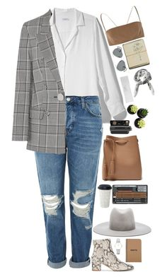 """""""Untitled #2939"""" by wtf-towear ❤ liked on Polyvore featuring Equipment, Topshop, ATP Atelier, CLUSE, Alexander Wang, VereVerto, Gucci, Ray-Ban, Polaroid and Brika"""