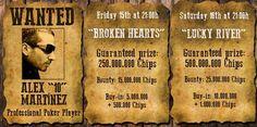 """Broken Hearts"" and ""Lucky River"", SodaPoker tournaments"