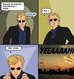 Cheesy CSI Miami guy lol