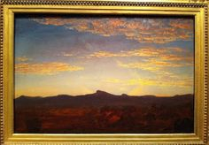 """Study for """"Catskill Creek"""" by Thomas Cole"""