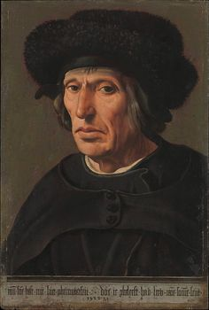 Maarten van Heemskerck (1498-1574, Netherlands) | the Artist's Father, 1498  (New York, MET)