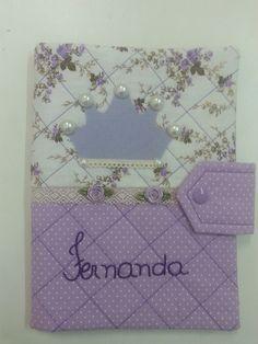 Capa de caderneta de vacinação para Fernanda!