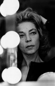 Lauren Bacall.  Older but still beautiful.