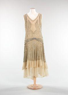 Evening dress | American | 1928–30