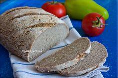 Kváskový chlieb – bezlepkový – jarkapecie.sk Bread, Food, Basket, Brot, Essen, Baking, Meals, Breads, Buns