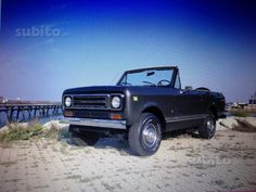 INTERNATIONAL SCOUT II permuto Used vehicles - For sale Vercelli
