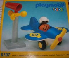 PLAYMOBIL 6707 playmobil 123 Flugzeug (Alter 1-5): Amazon.de: Spielzeug
