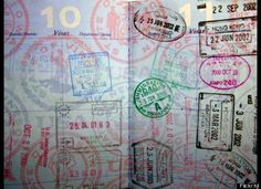 Can't remember the date of a memorable vacation? Look at your passport for a clue. I love collecting passport stamps and they usually show the date you passed through customs.