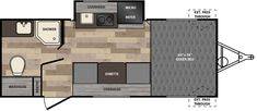 My favorite floor plan Winnie Drop | Floorplans | Winnebago RVs