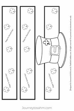 Patrick's Day Leprechaun hat free printable template. Get the children t… – St Patrick's Day Crafts DIY St Patricks Day Hut, St Patricks Day Quotes, St Patricks Day Crafts For Kids, Crafts For Seniors, Fun Crafts For Kids, Toddler Crafts, Preschool Crafts, St. Patrick's Day Diy, Headband Crafts
