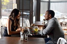 Emily (Shay Mitchell) and Maya's cousin, Nathan (Sterling Sulieman) are spending a lot of time together!  Do you think they could be more than friends? Tune in to PLL Tuesdays at 8/7c on ABC Family to find out!