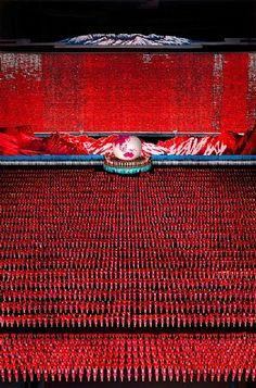 """Photography   Andreas Gursky   """"Pyongyang IV""""   2007"""