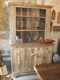 barn wood hutch