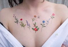 Flower tattoo flowers