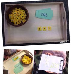 "Making cvc words from Rachel ("",)"