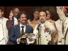 """Hamilton"" - 2016 GRAMMY Winner Best Musical Theater Album - YouTube"