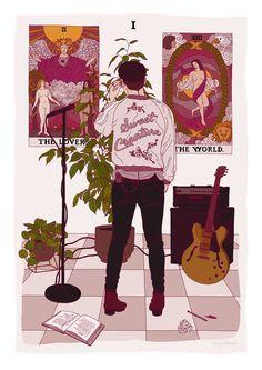 Such beautiful art. Niall Horan, Zayn Malik, Larry Stylinson, Louis Tomlinson, Liam Payne, Fanart, One Direction Harry, Light Of My Life, Harry Edward Styles