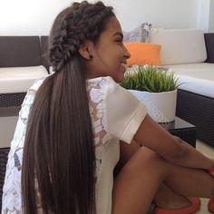 double braids hairbysl, so pretty!