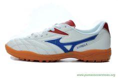 Futsal Shoes Mens TF White/Blue MIZUNO