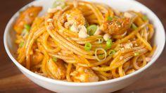 Kung Pao Spaghetti.