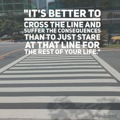 It's better to cross