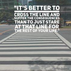 It's better to cross