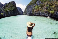 Palawan, Philippines. Dream Travel - Beautiful Places - Gorgeous Scenery - Wanderlust - Islands