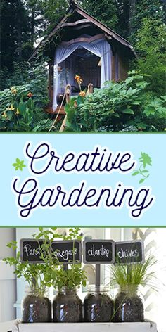 Get Inspired by these #Creative #Gardening Ideas!