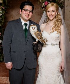This couple's Harry Potter-themed wedding is what magical dreams are made of