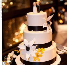 White and Black Cake