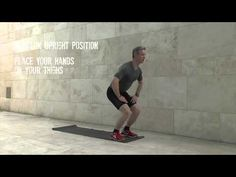 Instruction video on 'Hand Held Squats' Squats, Holding Hands, Exercises, Routine, Hold On, Positivity, Feelings, Fitness, Free
