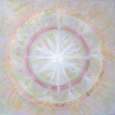 healing mandala spirit painting
