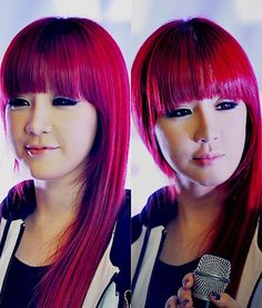 Park Bom. I want her hair