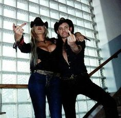 Lemmy, Middle fingers & Sexy Woman