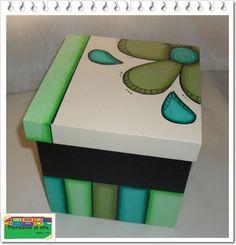 Pinceladas al aire: Cajas