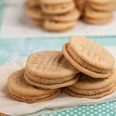 Homemade Nutter Butters - Peanut Butter Sandwich Cookies - Chew Out Loud