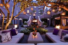 W Hotel in New Orleans French Quarter  Place d'Armes - the hidden courtyard