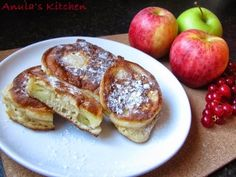 Anula's Kitchen: Polish racuchy with apples...