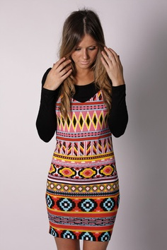 Fun tribal dress